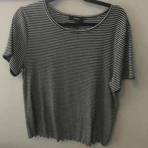 Forever 21+ Striped Shirt